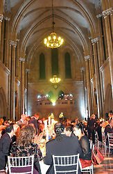 Guests at dinner at The Magic of Winter ball in aid of the charity KIDS held at The Royal Courts of Justice, London on 2nd Ferbruary 2005.<br /><br />NON EXCLUSIVE - WORLD RIGHTS