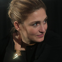 Julie  Gayet actress  and Producer and  girlfriend of Francois Hollande french président  at Tokyo screening event.