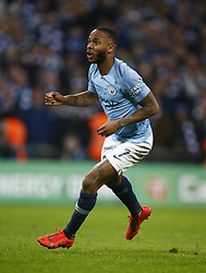 February 24, 2019 - London, England, United Kingdom - Manchester City's Raheem Sterling celebrate the winning penalty.during during Carabao Cup Final between Chelsea and Manchester City at Wembley stadium , London, England on 24 Feb 2019. (Credit Image: © Action Foto Sport/NurPhoto via ZUMA Press)