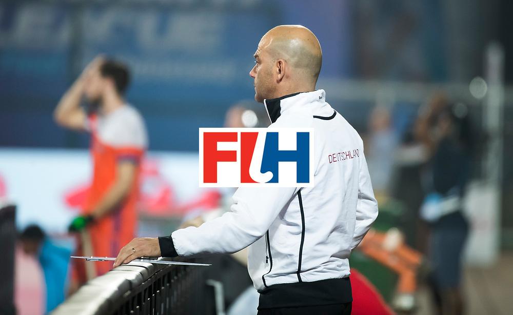 BHUBANESWAR - Eric Verboom (Dui) tijdens de Hockey World League Finals , de kwartfinale wedstrijd Duitsland-Nederland (3-3).Duitsland wint na shoot-outs.    COPYRIGHT KOEN SUYK