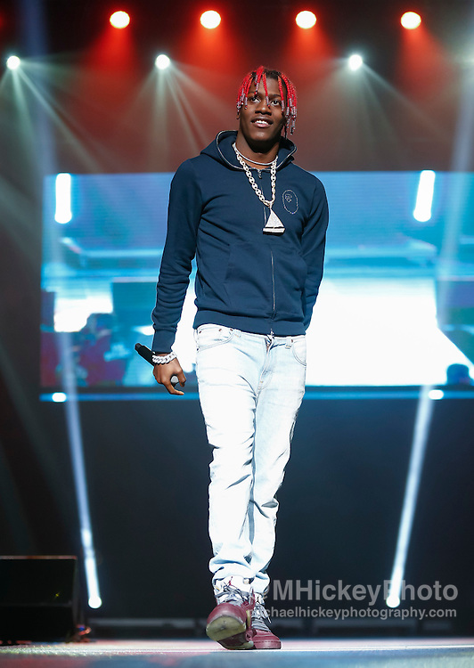 INDIANAPOLIS, IN - DECEMBER 04: Lil Yachty performs during the 2016 Santa Slam Concert at Indiana Farmers Coliseum on December 4, 2016 in Indianapolis, Indiana. (Photo by Michael Hickey/Getty Images) *** Local Caption *** Lil Yachty