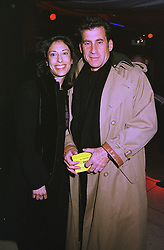 MR & MRS PAUL MICHAEL GLASER, he is the actor from Starsky & Hutch, she is his 2nd wife Tracy, at a party in London on 23rd March 1999.MPP 4