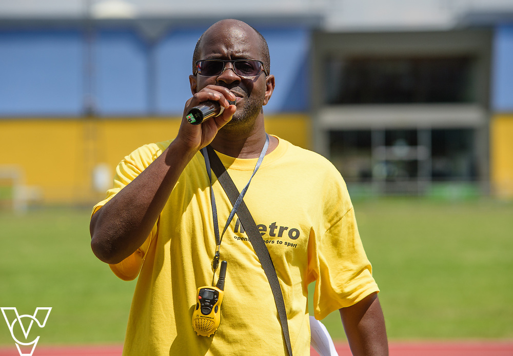 Metro Blind Sport's 2017 Athletics Open held at Mile End Stadium.  Volunteers<br /> <br /> Picture: Chris Vaughan Photography for Metro Blind Sport<br /> Date: June 17, 2017