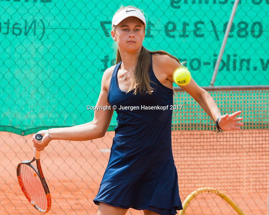 AMY STEVENS (AUS), Bavarian Junior Open 2017, Tennis Europe Junior Tour, GS16<br /> <br /> Tennis - Bavarian Junior Open 2017 - Tennis Europe Junior Tour -  SC Eching - Eching - Bayern - Germany  - 9 August 2017. <br /> &copy; Juergen Hasenkopf