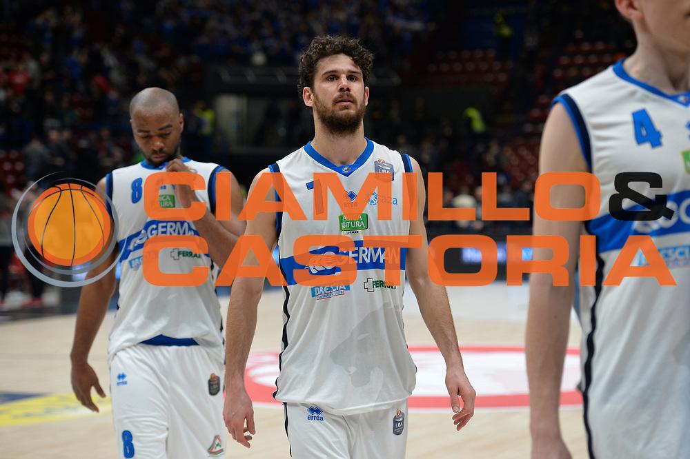 Vitali Luca<br /> Olimpia EA7 Emporio Armani Milano vs Basket Leonessa Brescia<br /> Lega A 2016/2017<br /> Milano 12/02/2017<br /> Foto Ciamillo-Castoria