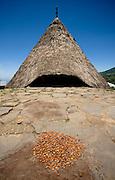 Traditional home, Todo village, Manggarai, Flores