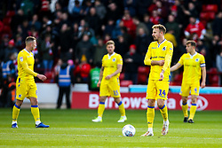 Bristol Rovers cut dejected figures - Mandatory by-line: Robbie Stephenson/JMP - 27/10/2018 - FOOTBALL - Oakwell Stadium - Barnsley, England - Barnsley v Bristol Rovers - Sky Bet League One
