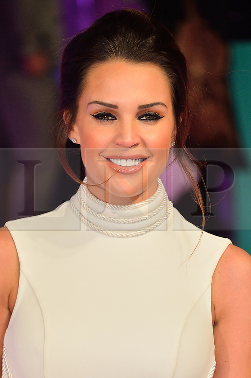 &copy; Licensed to London News Pictures. 09/02/2016. London, UK. DANIELLE LLOYD attends the UK film premiere of 'How To Be Single'.  The film is about a woman writing a book about bacherlorettes who becomes embroiled in an international affair while researching abroad<br /> Photo credit: Ray Tang/LNP