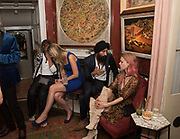 LADY GABRIELA WINDSOR; WARIS; MARY CHARTERIS , Robin Birley and Lady Annabel Goldsmith Summer Party. Hertford St. London. 5 July 2017