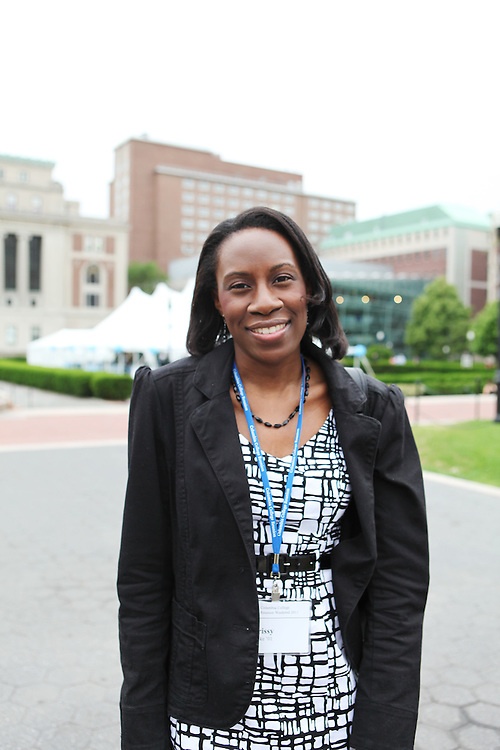 """Chrissy Okereke '01..""""Don't worry too much about your major or your classes, just do as much as you can.""""..""""Make sure to go to The Abbey."""""""