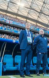 11.06.2016, Stade Velodrome, Marseille, FRA, UEFA Euro, Frankreich, England vs Russland, Gruppe B, im Bild Coach Roy Hodgson (ENG), Assistent Coach Ray Lewington (ENG) // Coach Roy Hodgson (ENG) Assistent Coach Ray Lewington (ENG) during Group B match between England and Russia of the UEFA EURO 2016 France at the Stade Velodrome in Marseille, France on 2016/06/11. EXPA Pictures © 2016, PhotoCredit: EXPA/ JFK