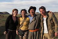 Mongolia. The family of Mr Tsendayush  ,  a nomad family living in a yurt camp in the Orkhon river valley,   Hakhorin -     Deux par Deux collection  /  famille Tsendayush eleveurs nomades dans la vallee de l'Orkhon,   Karakorum - Mongolie