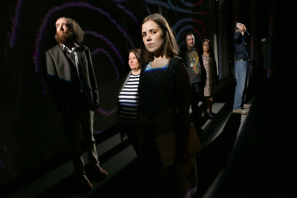 This House is Mine. - John McDonnell, Fabiola Meza,  Contessa Treffone, Chris Barwick, Veronica Flynn, Matthias Nudl. Milk Crate Theatre's new production, This House is Mine.