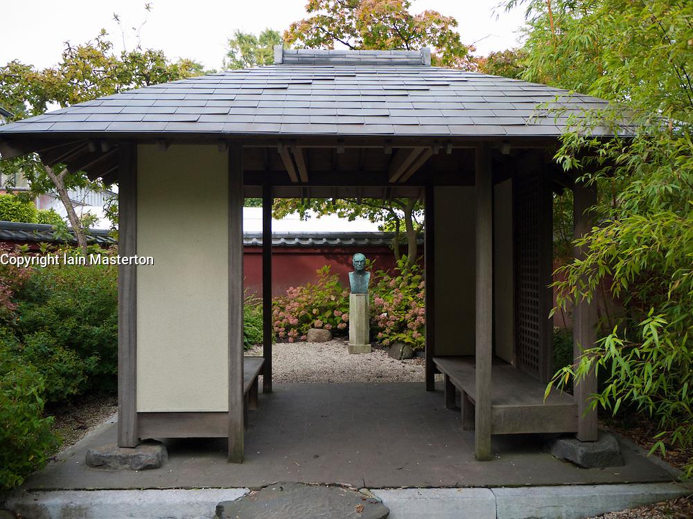 The Von Siebold Memorial Garden in Hortus Botanicus  in Leiden The Netherlands