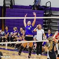 10-22-14 Berryville Volleyball vs. Prairie Grove - Senior Night