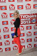 09.SEPTEMBER.2013. LONDON<br /> <br /> THE TV CHOICE AWARDS AT THE DORCHESTER, LONDON<br /> <br /> BYLINE: EDBIMAGEARCHIVE.CO.UK<br /> <br /> *THIS IMAGE IS STRICTLY FOR UK NEWSPAPERS AND MAGAZINES ONLY*<br /> *FOR WORLD WIDE SALES AND WEB USE PLEASE CONTACT EDBIMAGEARCHIVE - 0208 954 5968*
