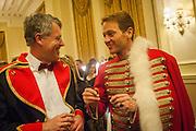 JAMES BROWN; DR. RUDOLF KING, THE ST PETERSBURG BALL in aid of the Children's Burns Trust. Landmark Hotel. London. 2 February 2013