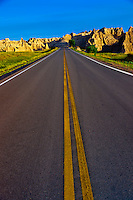Badlands Loop Road, Badlands National Park, South Dakota USA