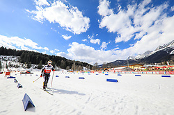 17.03.2017, Ramsau am Dachstein, AUT, Special Olympics 2017, Wintergames, Langlauf, Divisioning 5 km Freestyle, im Bild Heike Naujoks (GER) // during the Cross Country Divisioning 5 km Freestyle at the Special Olympics World Winter Games Austria 2017 in Ramsau am Dachstein, Austria on 2017/03/17. EXPA Pictures © 2017, PhotoCredit: EXPA / Martin Huber