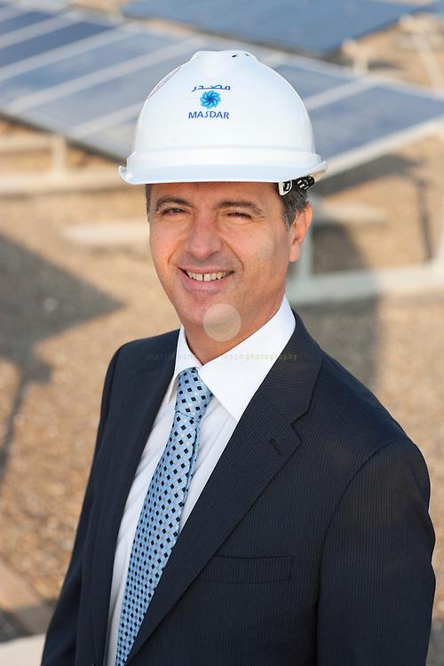 Portraiture Khaled Awad, Director Property Development, Masdar City: ASIA, UNITED ARAB EMIRATES, EMIRATE ABU DHABI, ABU DHABI, 17.01.2010