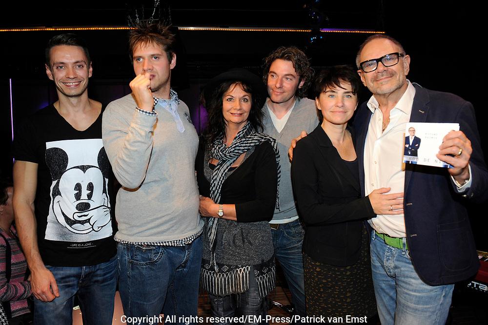 Rob de Nijs presenteert zijn nieuwe CD Nieuwe Ruimte inde Desmet Studio's Amsterdam<br /> <br /> Op de foto: