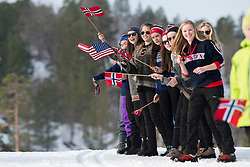 Spectators, NOR, Long Distance Cross Country, 2015 IPC Nordic and Biathlon World Cup Finals, Surnadal, Norway
