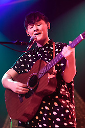 © Licensed to London News Pictures. 17/02/2014. London, UK.   Soak performing live at Scala, supporting headliner Chvrches.   Soak is the 17 year old female & lesbian singer-songwriter Bridie Monds-Watson.   Photo credit : Richard Isaac/LNP