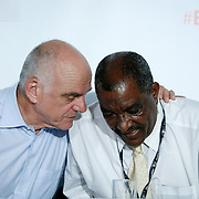 20160615 - Brussels , Belgium - 2016 June 15th - European Development Days - David Nabarro - UN Special Adviser on the 2030 Agenda for Sustainable Development - Berhanu Woldemichael - Director, Food Security Coordination Directorate - Ministry of Agriculture and Natural Resources, Ethiopia © European Union