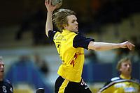 Håndball, 11. desember 2002. Eliteserien, Gildeserien herrer, Kragerø - Stord 25-32. Boye Pedersen , Kragerø