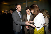 BEN AFFLECK, CASEY AFFLECK AND HAYLEY ATWELL .  ESQUIRE Editor Jeremy Langmead hosts a Salon/ dinner in honour of Casey Affleck. SUKA at Sanderson Hotel, 15 Berners Street, London. 28 May 2008 *** Local Caption *** -DO NOT ARCHIVE-© Copyright Photograph by Dafydd Jones. 248 Clapham Rd. London SW9 0PZ. Tel 0207 820 0771. www.dafjones.com.