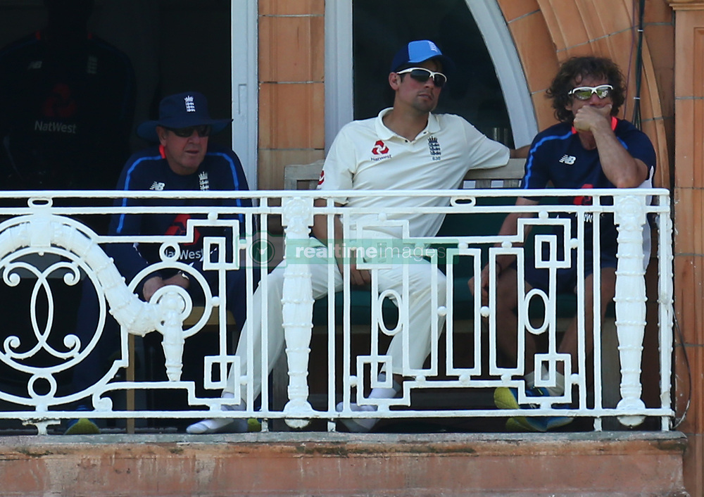 July 6, 2017 - London, England, United Kingdom - England's Alastair Cook .during 1st Investec Test Match between England and South Africa at Lord's Cricket Ground in London on July 06, 2017  (Credit Image: © Kieran Galvin/NurPhoto via ZUMA Press)