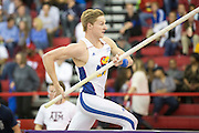 FAYETTEVILLE, AR:  March 13 and 14: NCAA Indoor Track and Field Championships<br /> <br /> Photography by Wesley Hitt and Beth Hall of www.razorbackphotos.com