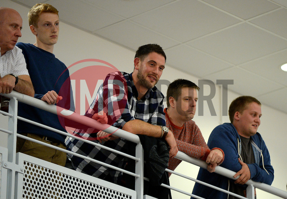 Bristol Flyers fans look on from the balcony - Photo mandatory by-line: Dougie Allward/JMP - 17/09/2016 - BASKETBALL - SGS Wise Arena - Bristol, England - Bristol Flyers v Worcester Wolves - Exhibition Game