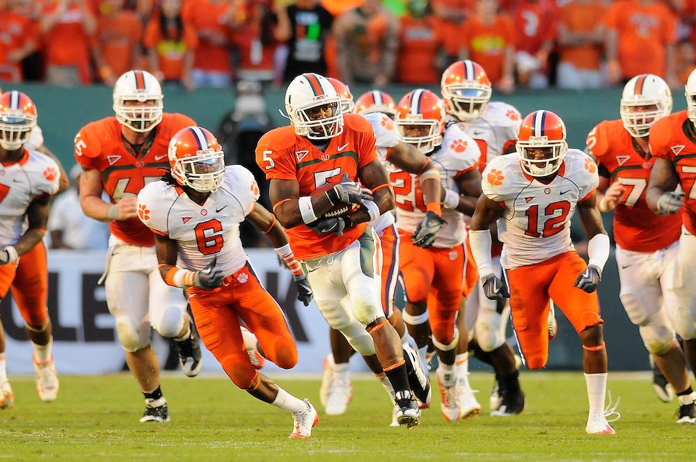 2009 Miami Hurricanes Football vs Clemson
