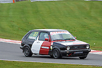 #27 Paul FOREMAN VW Golf GTi Mk2 during Teekay Couplings Mk2 Production Gti Championship - Race 4  as part of the BRSCC Oulton Park Season Opener at Oulton Park, Little Budworth, Cheshire, United Kingdom. April 09 2016. World Copyright Peter Taylor/PSP. Copy of publication required for printed pictures.  Every used picture is fee-liable. http://archive.petertaylor-photographic.co.uk