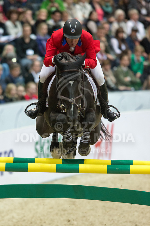 McClain Ward (USA) & Super Trooper De Ness - Rolex FEI World Cup Jumping Final 2 - Gothenburg Horse Show 2013 - Scandinavium, Gothenburg, Sweden - 26 April 2013
