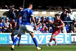 Callum O'Dowda of Bristol City runs with the ball - Mandatory by-line: Robbie Stephenson/JMP - 30/09/2017 - FOOTBALL - Portman Road - Ipswich, England - Ipswich Town v Bristol City - Sky Bet Championship