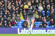 Chelsea's Cesc Fàbregas controls the ball during the Barclays Premier League match between Crystal Palace and Chelsea at Selhurst Park, London, England on 3 January 2016. Photo by Shane Healey.