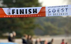 31-12-2014 NED: Rabobank Sylvestercross, Soest<br /> Sylvestercross finish lijn in Soest.