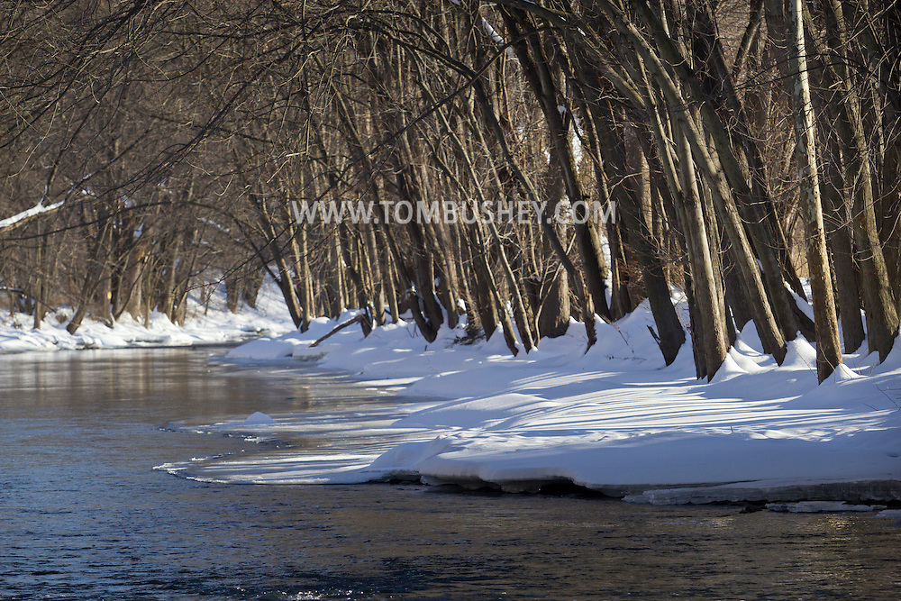 Cornwall, New York - A view of Moodna Creek on Feb. 11, 2014.