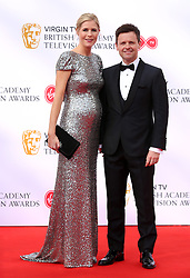 Declan Donnelly and Ali Astall attending the Virgin TV British Academy Television Awards 2018 held at the Royal Festival Hall, Southbank Centre, London.