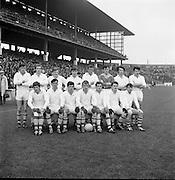 All Ireland Minor Football Final, Antrim v Roscommon.  Roscommon Team..14.09.1969.