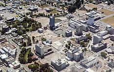 Christchurch-Aerial views show rebuild following earthquake