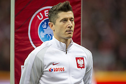 October 8, 2017 - Warsaw, Poland - Robert Lewandowski of Poland during the FIFA World Cup 2018 Qualifying Round Group E match between Poland and Montenegro at National Stadium in Warsaw, Poland on October 8, 2017  (Credit Image: © Andrew Surma/NurPhoto via ZUMA Press)