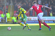 Notts County's Curtis Thompson on the ball during the Sky Bet League 1 match between Swindon Town and Notts County at the County Ground, Swindon, England on 7 March 2015. Photo by Mark Davies.
