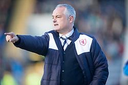 Raith Rovers Ray McKinnon. <br /> Raith Rovers 1 v 2 Hibernian, Scottish Championship game played 24/10/2015 at Starks Park.