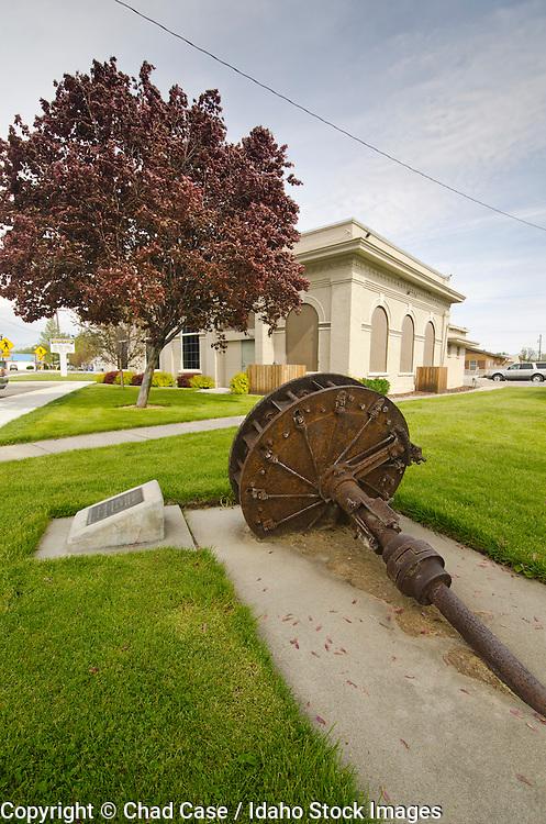 Middleton, Idaho town park.