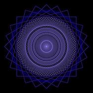 Spirograph Pattern, Digital Art, Hi Res Image, Extreme Detail