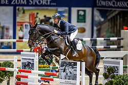 GREVE Willem (NED), Faro<br /> VEOLIA Championat<br /> Int. jumping competition with 1 jump-off (1.50 m) - CSI3*<br /> Comp. counts for the LONGINES Rankings<br /> Braunschweig - Classico 2020<br /> 07. März 2020<br /> © www.sportfotos-lafrentz.de/Stefan Lafrentz