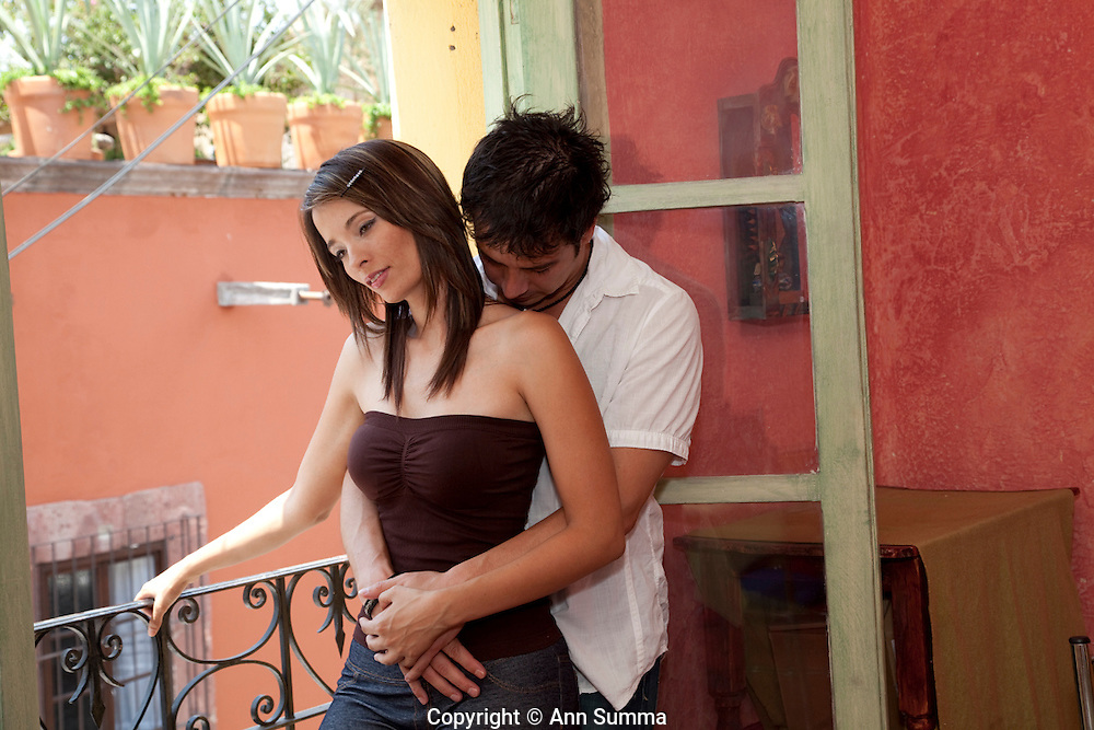 San Miguel de Allende, Mexico: An Hispanic couple on vacation goes shopping, sightseeing, eating in an historical colonial Mexican hill town. (photo: Ann Summa).